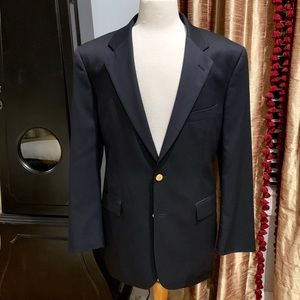 Brooks Brothers Classic Navy Blue 2 Button Blazer